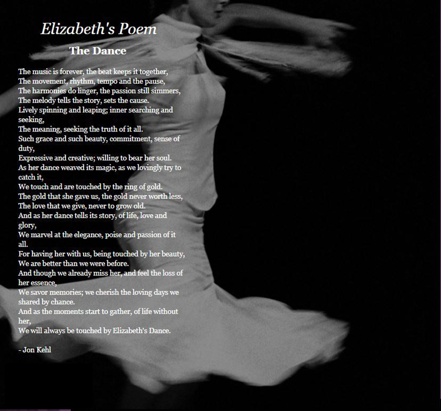 the dance poem